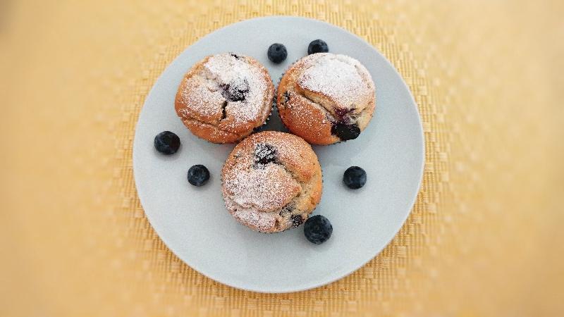 Heidelbeer Eierlikör Muffins